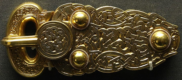 The Great Buckle from the Sutton Hoo find.